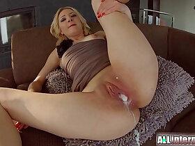 creampie porn - Allinternal Betty Lynn gets messy creampie
