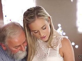 Old and young porn, real hot sex with age difference