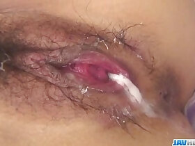 cock porn - Aiuchi Shiori craves for two cocks in her tight fanny