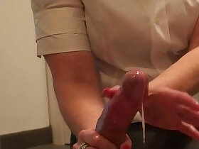 handjob porn - Red Nails Under the Head Free Porn