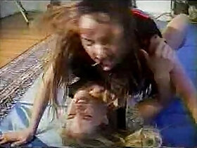 forced porn - Catfight To Sex Candi Vs Tina