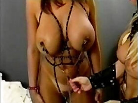 latex porn - Big Busted Doms