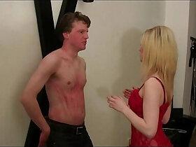 bdsm porn - Young Femdom Mistress dominate man in BDSM Studio