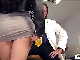 babe porn - BUMS BUERO German babe Lullu Gun gets banged by boss in the office