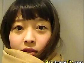cute porn - Cute japanese teen pees