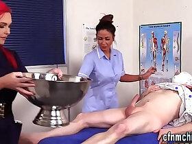 cfnm porn - Cfnm nurses suck patient