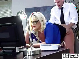 18 year old porn - Office with Busty Girl julie cash Get Hard doggy Style Banged clip 18