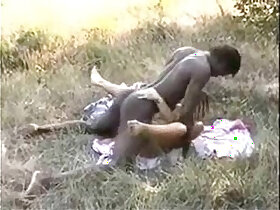 african porn - African Bull fucks his wife fucking with cuckoldhusband
