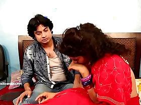 aunty porn - Devar Forcing Romance with Bhabhi she later starts enjoying it HD new
