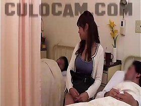 asian porn - Hospital Role Play Exhibitionist Blowjob Big Asian Boobs