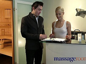 massage porn - Massage Rooms Uma rims guy before squirting and pleasuring another