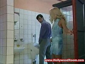 cheating porn - Horny cheating Wife Fucks Stranger In Public Toilet