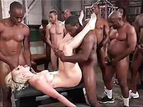 anal porn - GANGBANG WIFE BLACK monster COCKS ANAL PAIN