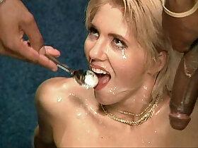 bukkake porn - bukkake girls swallow sperm