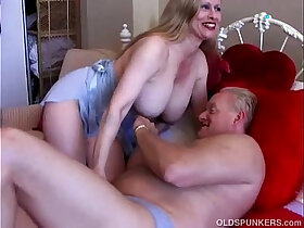 booty porn - Busty old big booty broad is a super hot fuck