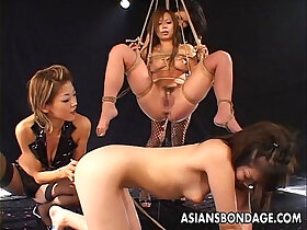 asian porn - Freaky Asian bitches having a bdsm session