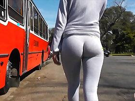 ass porn - Best Teen CAMELTOE And ASS Exposure In Public! Yoga Pants!!
