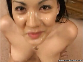 amazing porn - Hottest Asian ever gives amazing blowjob