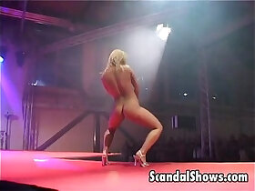 blonde porn - Hot blonde exposes her goodies