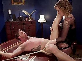 bdsm porn - bdsm femdom Cherry Torn and Mike Panic