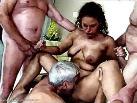 cum porn - Gangbang