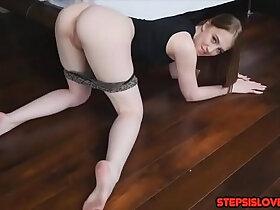 ass porn - Teen sis Chloe Scott has her sweat ass fucked by stepbrother shaft
