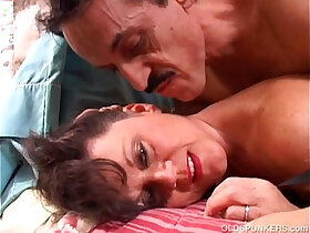 fuck porn - Debella is a saucy old spunker in stockings who loves fuck