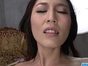 insertion porn - Perfect Japanese masturbation show with Sera Ichijo