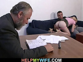 fuck porn - Desperate husband pays a stud fuck wife