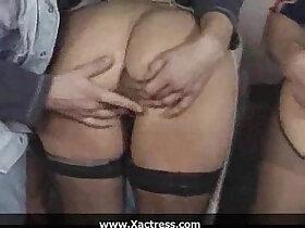 classic porn - German classic filthy mature woman gangbang