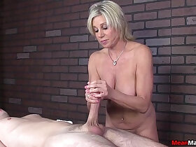awesome porn - meanmassage Awesome Handjob