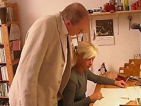 blonde porn - Blonde russian Teen Seduces Old Tutor Teacher