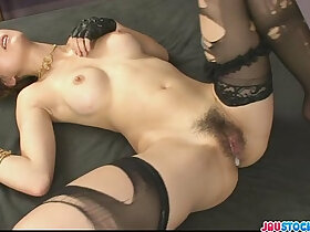 asian porn - Pretty and horny redhead Asian babe Yuki Mizuho