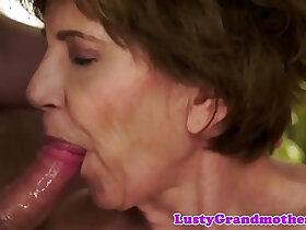 cum porn - Faketit granny jizzed in mouth fucking