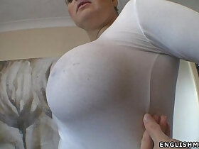 big tits porn - Big tits English milf wet boobs