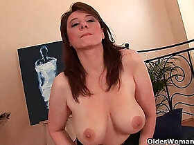busty porn - Busty woman unloads a cock in her face