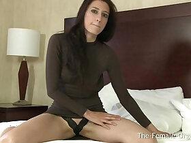 coed porn - Newbie Coed First Real Female Masturbation to Orgasm Shoot