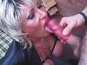 bbw porn - Piss Busty Blonde Mom Whore Pee And Suck A Dick