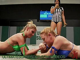 lesbian porn - Lesbos fighting to peg each other