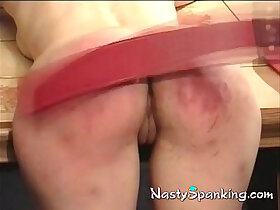 ass porn - Ass raw and red spanked