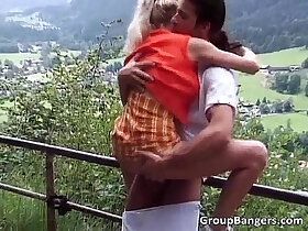 group porn - Outdoor sex party with unbelievable