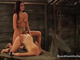 bondage porn - The Submissive Receiving Pleasure And Pain In Bondage