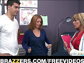 big tits porn - Busty big tit doctor Shayla Laveaux helps her paitent recover