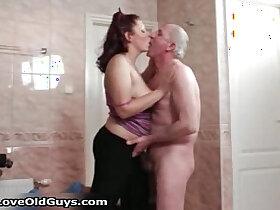 aggressive porn - Horny whore goes crazy sucking