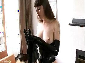 bdsm porn - BDSM Latex Solo pornvideo.rodeo