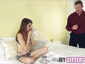 babysitter porn - Teen Babysitter Sees Her First Man Cock pornvideo.rodeo
