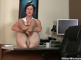 american porn - Big clit milf Raquel and hairy wet pussy mom Artemisia in nylon