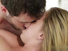 cum porn - Horny sexy girl kiss