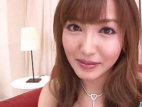 insertion porn - Mami Asakura feels toys over her moist pussy