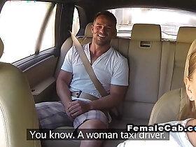 natural porn - Huge natural tits cab driver fucks in public